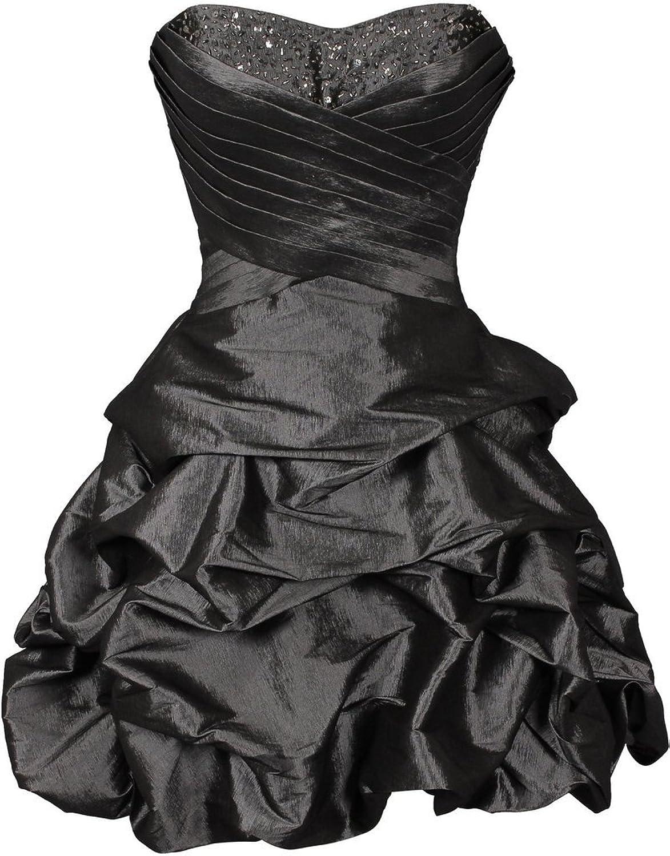 JoyVany Beaded Bubbled Cocktail Dresses 2016 Short Sweetheart Sixteen Dresses