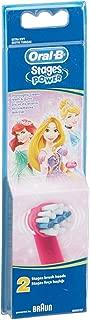 Oral-B Stages Çocuklar İçin Diş Fırçası Yedek Başlığı, Prenses, 2 Adet