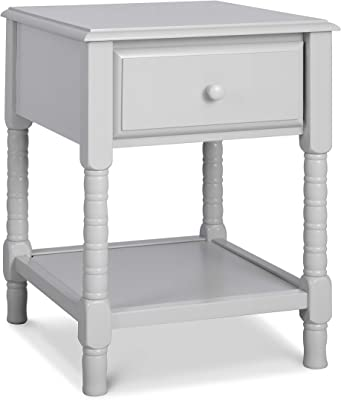 DaVinci Jenny Lind Spindle Nightstand in Fog Grey