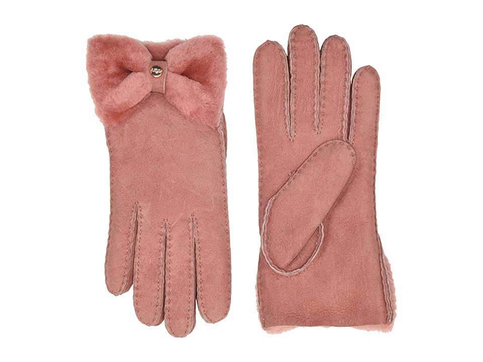 Vintage Style Gloves- Long, Wrist, Evening, Day, Leather, Lace UGG Bow Shorty Water Resistant Sheepskin Gloves Lantana Pink Extreme Cold Weather Gloves $154.95 AT vintagedancer.com
