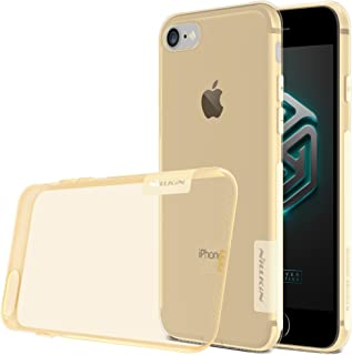 Nillkin Nature 0.6MM TPU Slim Case Cover for Apple iPhone 7 - Gold