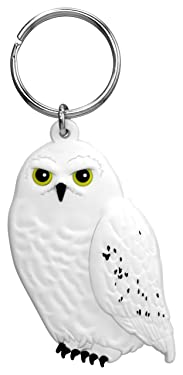 """HARRY POTTER 48258 Hedwig Lasercut Key Ring Novelty and Amusement Toys, Multi-Colored, 3"""""""