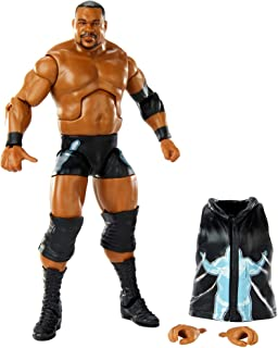 WWE Keith Lee Elite Collection Series 82 Action Figure 6 in Posable Collectible Gift Fans Ages 8 Years Old and Up