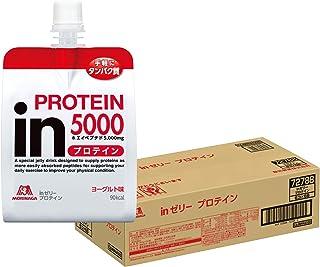 inゼリー プロテイン ヨーグルト味 (180g×36個) 手軽にタンパク質 10秒チャージ ホエイペプチド5,000mg配合 クエン酸1,000mg配合