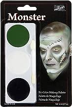 Mehron Makeup Tri-Color Halloween Makeup Palette (Monster)