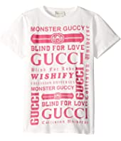 Gucci Kids - Graphic Logo T-Shirt 547559XJAIC (Little Kids/Big Kid)