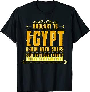 Hebrew Israelite Brought to Egypt Womens Mens T Shirt