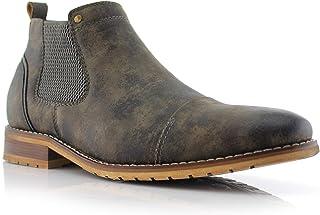 Ferro Aldo Sterling MFA606325 Mens Casual Chelsea Slip on Ankle Boots