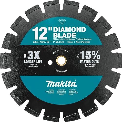 "2021 Makita B-69668 12"" Diamond Blade, Segmented, Dual new arrival new arrival Purpose online sale"