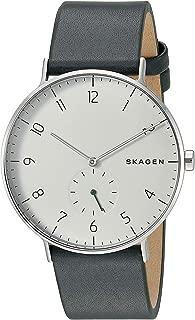 SKAGEN [スカーゲン] skw6466 Aaren Green Leather Watch グリーン レザーバンド アナログ レディース メンズ 腕時計 [並行輸入品]
