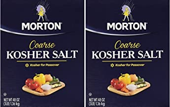 Morton Salt Kosher Salt, 3 lbs, Pack of 2