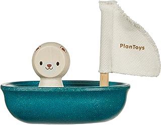 PlanToys - Sailing Boat-Polar Bear