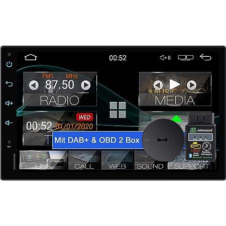 Tristan Auron Bt2d7018a Android 10 Autoradio Mit Navi Elektronik