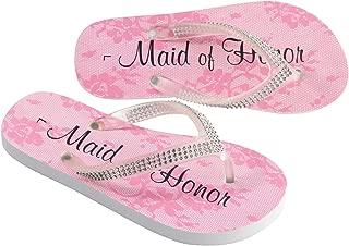 Lillian Rose Maid of Honor Women Large 9-10 Flip Flops