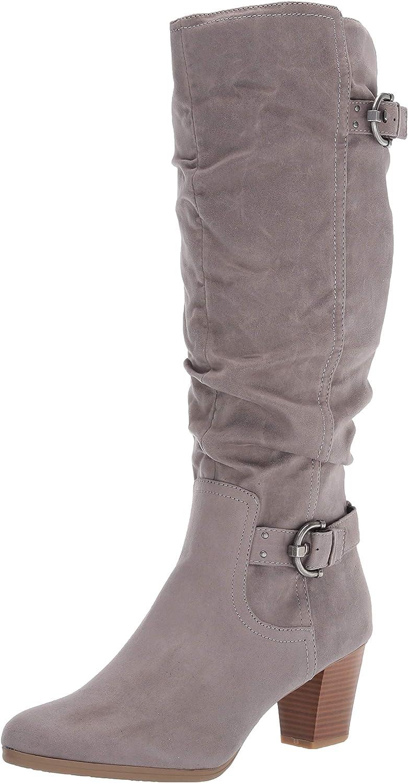 Award Rialto Women's Farewell Size Max 45% OFF 7.5 Knee Lt Vintage Grey Boot High