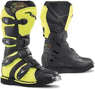 Forma forc370–997832Stiefel Motorrad Kinder und Junior Cougar Eichzulassung CE, schwarz/Yellow Neon preisvergleich preisvergleich bei bike-lab.eu