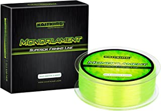 KastKing World's Premium Monofilament Fishing Line - Paralleled Roll Track - Strong and Abrasion Resistant Mono Line - Sup...