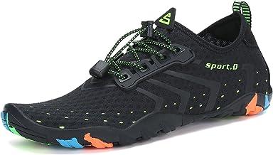 کفش های مردانه زنان زنان سریع خشک پابرهنه برای غواصی شنا گشت و گذار ورزش های آبی ورزش استخر پیاده روی یوگا