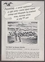 Associated American Artists Signed Original Etchings folder 1940s Benton Grant +