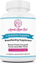 Lactation Supplement Breastfeeding Support: Increase Mothers Breast Milk Supply - Breast Feeding Supplements for Breastmilk with Fenugreek Seed Extract, Blessed Thistle, Fennel Seed - 120 Veggie Pills