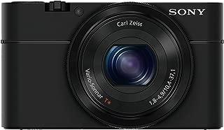 Sony Cybershot DSC-RX100 20.2MP Digital Camera with 3.6X Optical Zoom (Black)