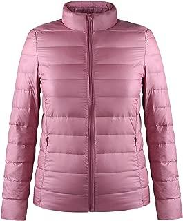 Women's Packable Short Down Jacket Water-Resistant Lightweight Puffer Coat