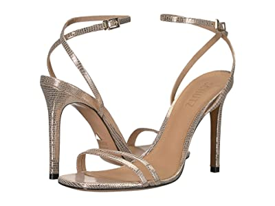 Schutz Altina (Platina Shine Lizard) Women