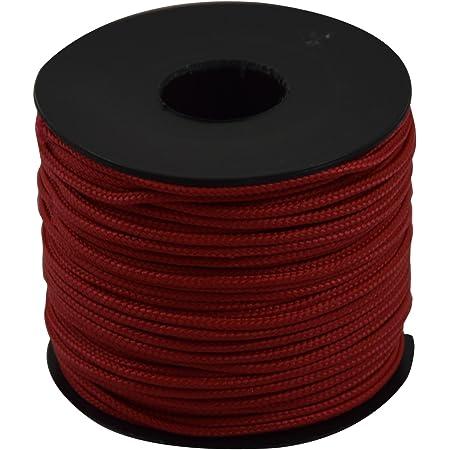 Corderie Italiane 6005896 Edilizia Cordino, 2.0 mm- 50 mt, Rosso, rojo
