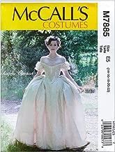 McCall's M7885 Angela Clayton Misses' Costume E5 (Sizes 14-22)
