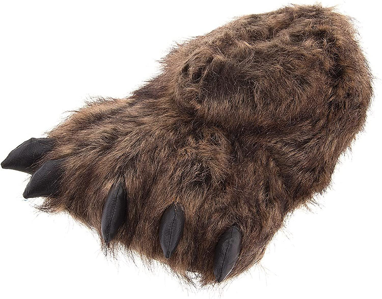 Crazy for Bargains Grizzly Bear Paw Slippers for Women and Men