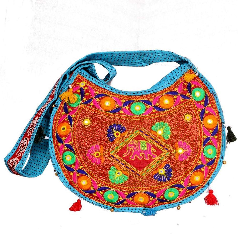 Indian Wholesale 50 pc lot Bulk Mandala Ombre Hippie Assorted Bag Tribal Boho Shoulder & Handbag Ethnic Cotton Messenger Carry Bag With Shoulder Strap Tote Purse For Ladies by Craft Place CAD-68