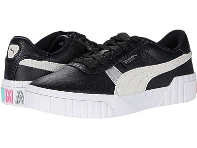 PUMA Cali Varsity (Puma Black/Puma White/Puma Silver) Women