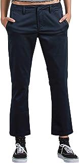 Volcom Junior's Frochickie Classic Chino Pant, Navy 29