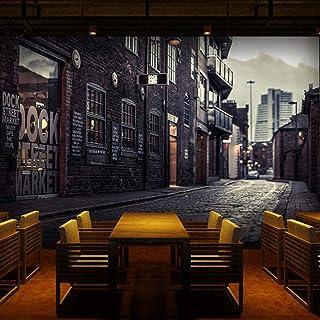 RTYUIHN 3D Photo Wallpaper European City Street View Large Mural Print Applique Home Decoration Wallpaper Mural