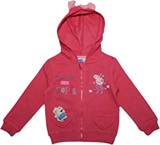 Peppa Pig Pretty Kids Jumper with Ears and Bow Hood