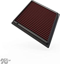 K&N engine air filter, washable and reusable: 2008-2019 Ford (Fiesta, Figo, KA Plus, B-Max, EcoSport, Tourneo Courier, Transit Courier, 33-2955