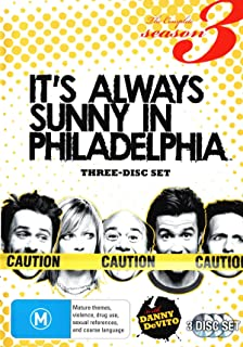 IT'S ALWAYS SUNNY IN PHILADELPHIA: SEAS 3 (3 DISC)