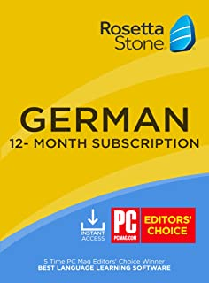 Rosetta Stone: Learn German for 12 months [Auto-recurring Subscription]