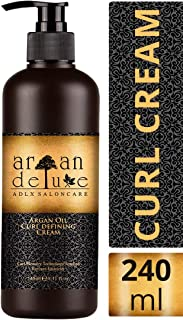Crema de aceite de argán definidora de rizos con