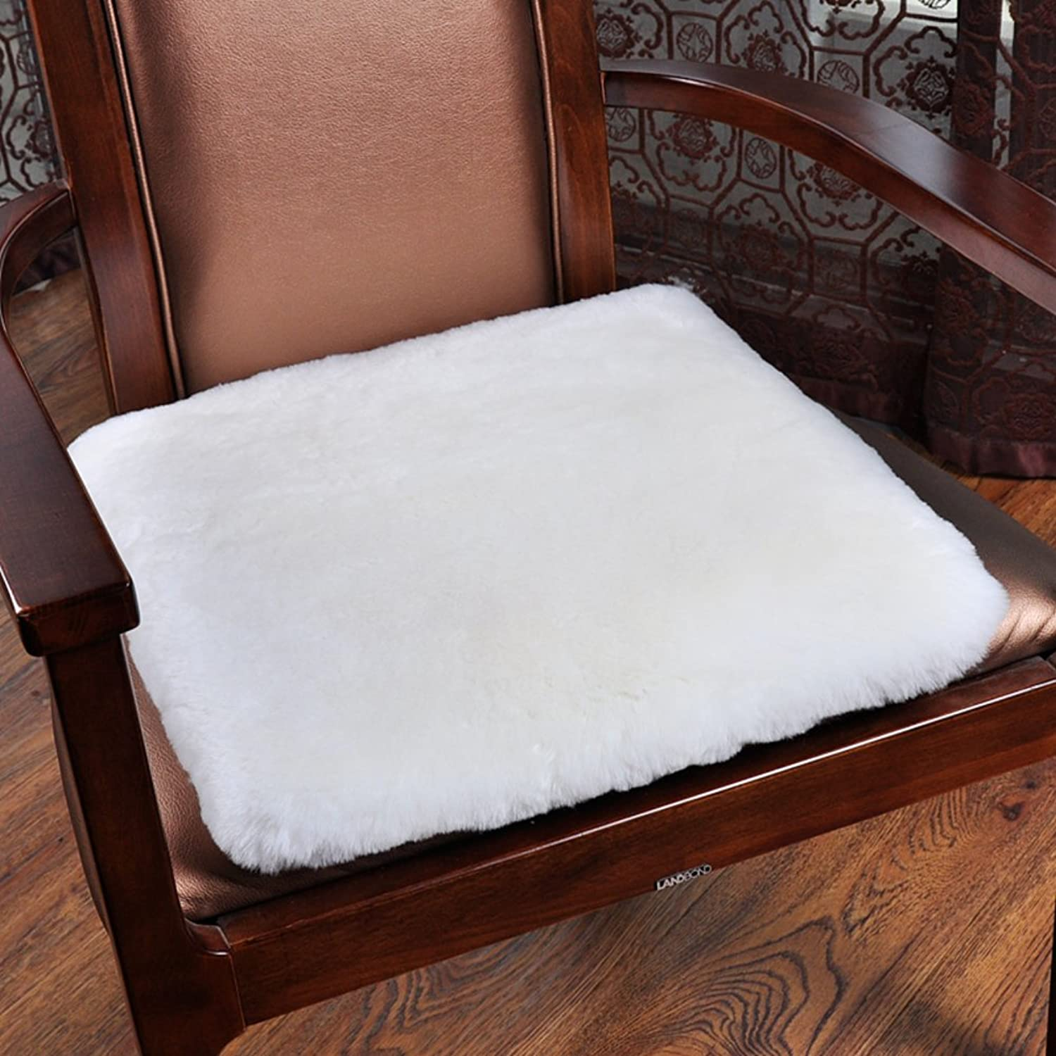Pure color winter seat cushioning,Solid wood chair cushion Sofa cushions Student Office chair cushion-C 50x50cm(20x20inch)