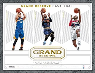 2016-17 Panini Grand Reserve Basketball Hobby Box (3 Packs of 8 Cards: 2 Autographs plus 1 Memorabil