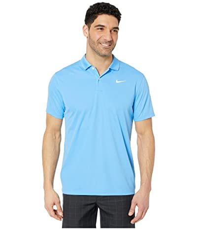 Nike Golf Dry Victory Polo Solid (University Blue/White) Men