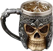 AUVSTAR Gothic 3D Skull koffiemok - roestvrij stal...
