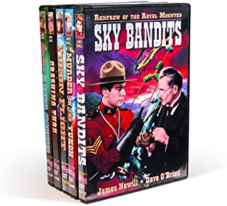Renfrew of the Royal Mounted Collection: (Sky Bandits / Murder on the Yukon /