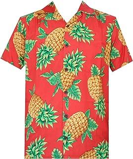 Hawaiian Shirts Mens Aloha Beach Party Holiday Camp Casual Short Sleeve Fashion