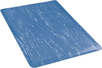 """product image for Apache Mills Marbleized Top Mat, 24 x 36"""", Blue"""