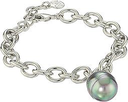 Modern Metal Gold Link Bracelet