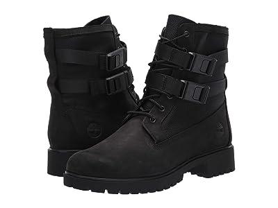 Timberland Jayne Double Buckle Waterproof Boot (Black) Women