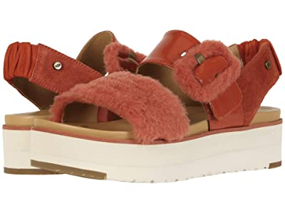 UGG Le Fluff (Red Rock) Women