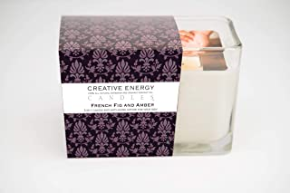 Creative Energy Candle - 2-in-1 Soy Lotion Candle (French Fig & Amber)